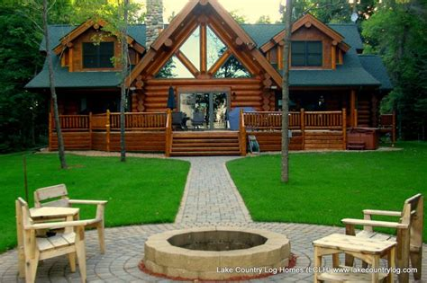 cabin kits mn www lakecountrylog handcrafted log cabin home lclh