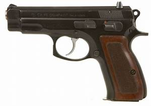 Deactivated CZ 75 Compact 9mm Automatic Pistol - Modern ...