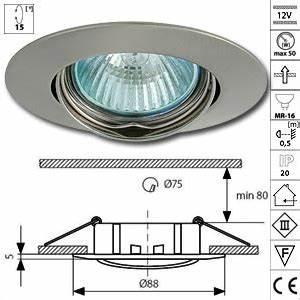 Spot Led Encastrable Plafond Faible Hauteur : spot encastrable 12v support spot led 12v tbt culot gu5 3 ~ Edinachiropracticcenter.com Idées de Décoration