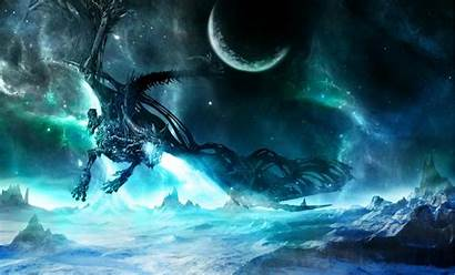 Dragon Space Desktop Wallpapers Background Backgrounds Eyes