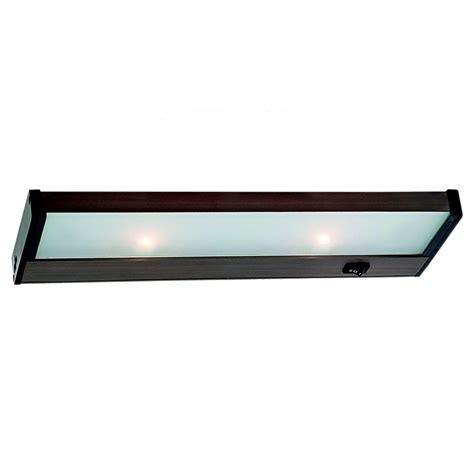 Seagull Ambiance Linear Cabinet Lighting by Sea Gull Lighting Ambiance 2 Light 120 Volt Self Contained