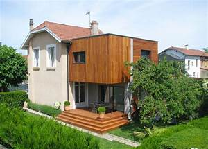 Cout Extension Bois : extension maison bois mc immo ~ Nature-et-papiers.com Idées de Décoration