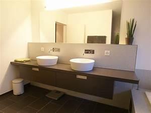 Moderne Badezimmer Beleuchtung : badezimmer badezimmerm bel innenausbau waschtische ft k chenbau ~ Sanjose-hotels-ca.com Haus und Dekorationen