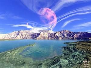 Digital Art by Orchid Planetary Landscapes, Mandalas