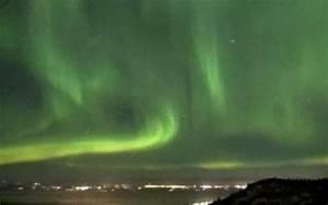 Dazzling display of Northern Lights light up Alaska skies
