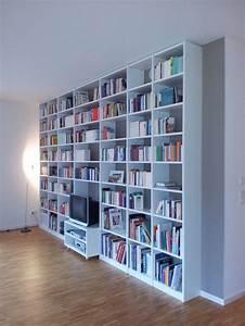 Bücherwand Mit Tv : bibliothek unikate mit pers nlichkeit ~ Michelbontemps.com Haus und Dekorationen