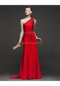 robe de mariã e 2 en 1 robe de soirée 2014 satin col asymétrique