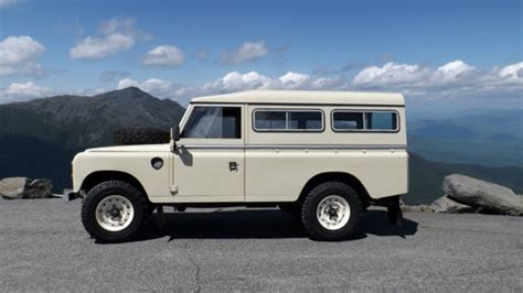 1981 land rover series 3 109 v8 restored for sale in conway new hshire united states