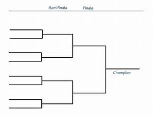 Tournament Elimination bracket - 8 teams — Deekit