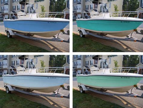 Fishing Boat Paint Designs by Paint Color Ideas The Hull Boating And Fishing