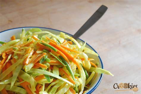 assiette cuisine les achards salade de légumes crus à la réunionnaise
