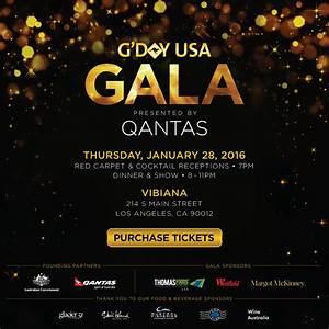 Event : G'DAY USA : Where the US & Australia Meet