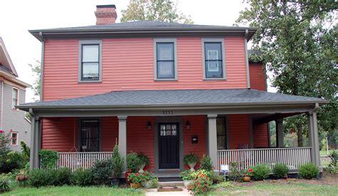 exterior paint colors red hawk haven