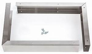 New 36 U0026quot  Stainless Steel Microwave Filler Kit For 30 U0026quot  Microwaves Mwfilktss