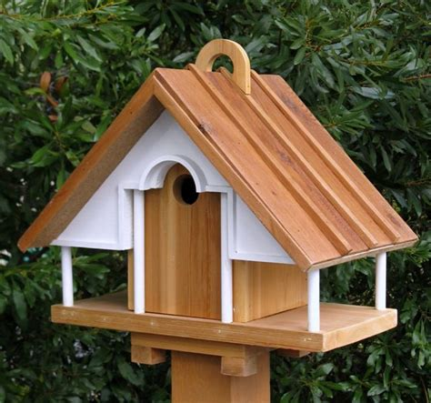 cool architectural birdhouses