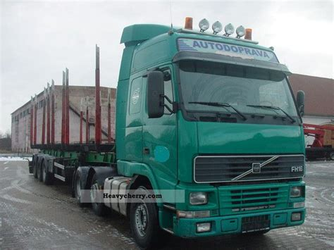volvo semi trailer volvo fh16 2001 standard tractor trailer unit photo and specs