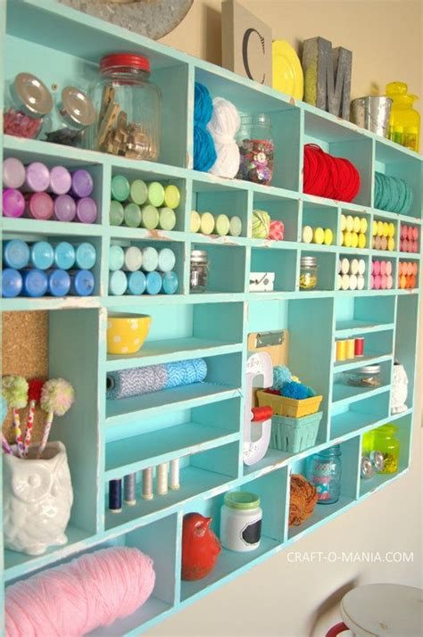 25+ Best Ideas About Craft Room Shelves On Pinterest