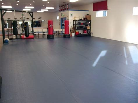 Basement Rubber Flooring Benefits