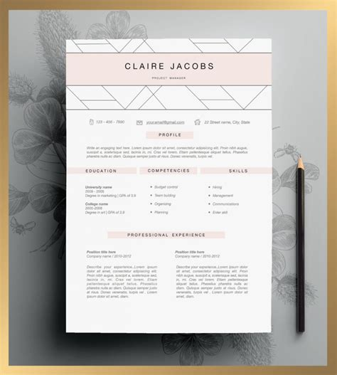 etsy resume template looking for a you need one of these killer cv templates from etsy career daily