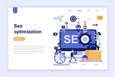 on page optimization in seo landing page template of seo optimization free