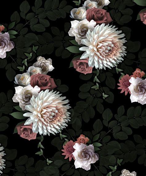 wallpaper shabby chic flowers wallpaper pattern jonte c o a h o c