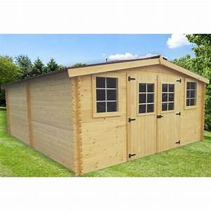 Abri En Bois : abri de jardin en bois massif 28mm ~ Edinachiropracticcenter.com Idées de Décoration