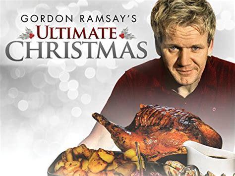 Amazon.com: Gordon Ramsay's Ultimate Christmas: Gordon