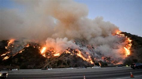 angeles fire getty california wildfires near freeway north october release carbon along center wildfire burn undercut climate goals whats environmental