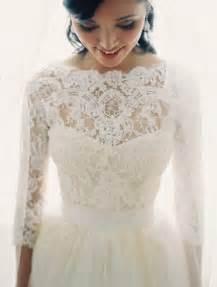 vera wang bridesmaid dress 30 gorgeous lace sleeve wedding dresses