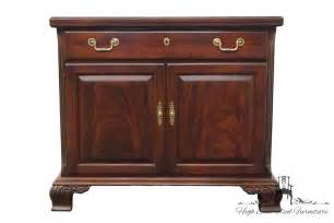 oak dining room set thomasville mahogany collection 42 fold out server buffet 14521 ebay