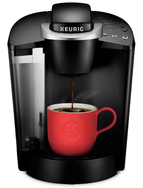 Coffee makers work by heating water and mixing it with grinds from a coffee grinder. Keurig K-Classic Single Serve K-Cup Pod Coffee Maker, Black - Walmart.com - Walmart.com