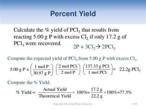 Sample Determining Theoretical Yield
