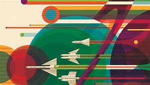 NASA's Retro Travel Posters Depict Future Where Space ...