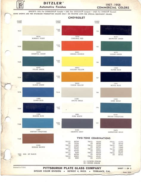 2013 chevy paint colors