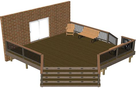 Freestanding Deck Plans Free by 7 Free Deck Plans You Can Diy