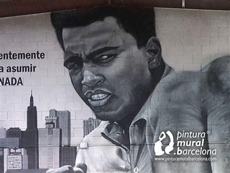 Graffiti Muhammad : Mural Graffiti Muhammad Ali
