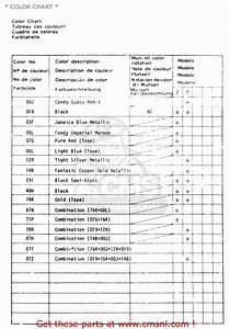 Suzuki Gs1100g 1983  D  General Export  E01    Color Chart
