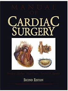 Manual Of Cardiac Surgery 2nd Edition