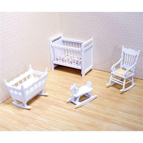 meuble chambre de bébé meubles de chambre de bébé pour maison de poupée en bois