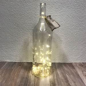 Glas Mit Lichterkette : 40er led draht lichterkette in xxl glas flasche dekoflasche mit batterien ebay ~ Yasmunasinghe.com Haus und Dekorationen