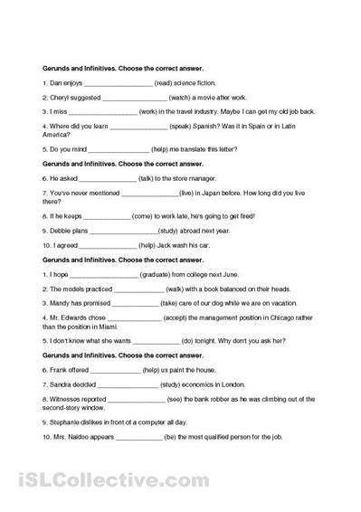 4 best images of printable grammar worksheets secondary