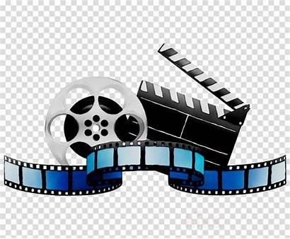 Clipart Film Clip Camera Editing Transparent Belt