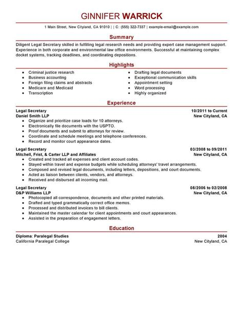 Best Legal Secretary Resume Example  Livecareer. Ice Cream Scooper Resume. Purdue Owl Resume. Program Manager Resume Sample. What Is Major In Resume. Best Technical Resume Format Download. Resume Names. Cell Phone Store Manager Resume. Updated Resume Format