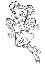 Coloring Cafe Dazzle Butterbean Hatcher Abby Printable للتلوين Cartoon رسومات Butterbeans Colouring Sheets للاطفال اطفال Fairy Princess Disney sketch template
