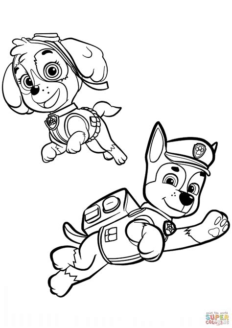 The best free Skye coloring page images Download from 176