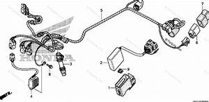 Honda Motorcycle 2004 Oem Parts Diagram For Wire Harness