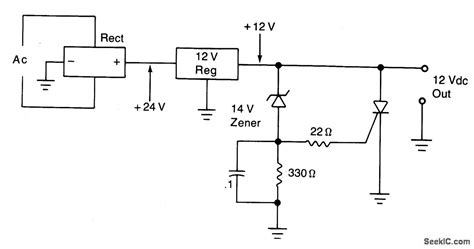 Overvoltage Protection Circuit Scr Crowbar