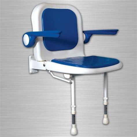 siege de rabattable siège de rabattable avec appuie bras bleu la