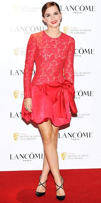 Emma Watson Red Carpet Style Instyle