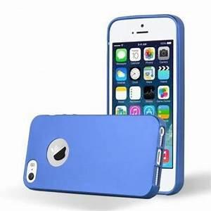 Silikon Aus Kleidung : cadorabo h lle f r apple iphone 5 5s h lle in metallic blau handyh lle aus tpu silikon im ~ Buech-reservation.com Haus und Dekorationen